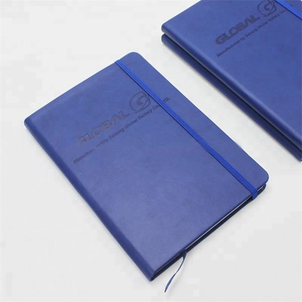 Hardcover A5 PU Leather Notebook