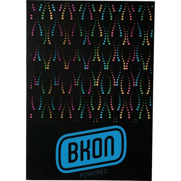 "6"" x 8.5"" Laser Pattern Notebook"