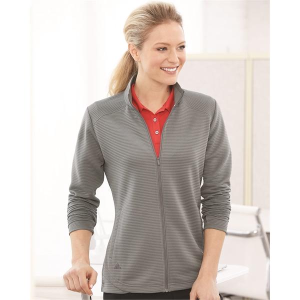 Adidas Women's Textured Full-Zip Jacket