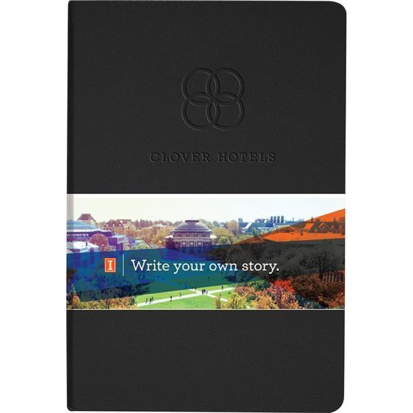 Ambassador Graphic Wrap Bound JournalBook™