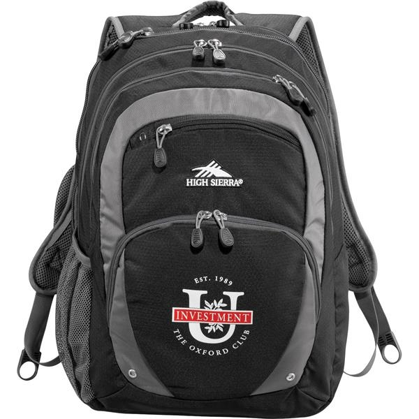 """High Sierra Overtime Fly-By 17"""" Computer Backpack"""