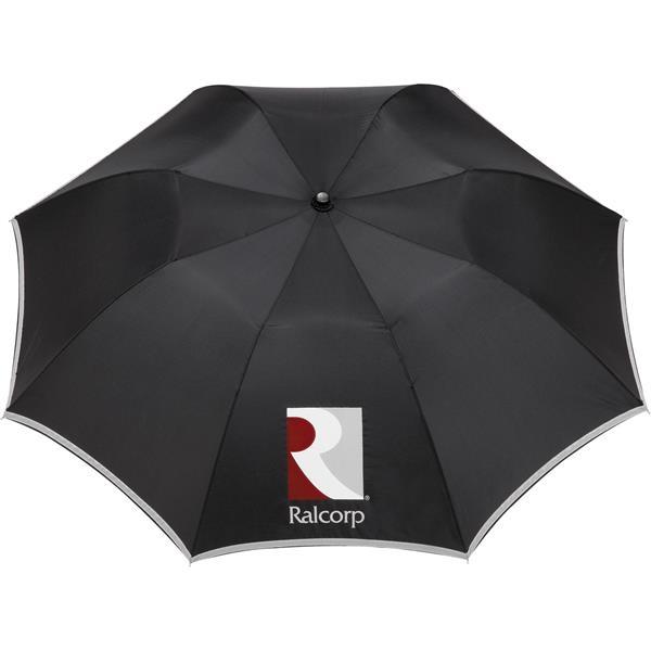 "42"" Auto Open Folding Safety Umbrella"
