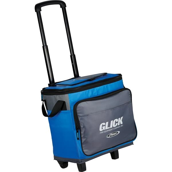 Arctic Zone® 35 Can Rolling Cooler - Arctic Zone® 35 Can Rolling Cooler