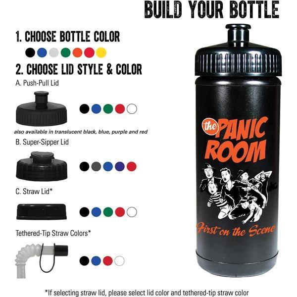Classic Squeeze 16oz Sports Bottle