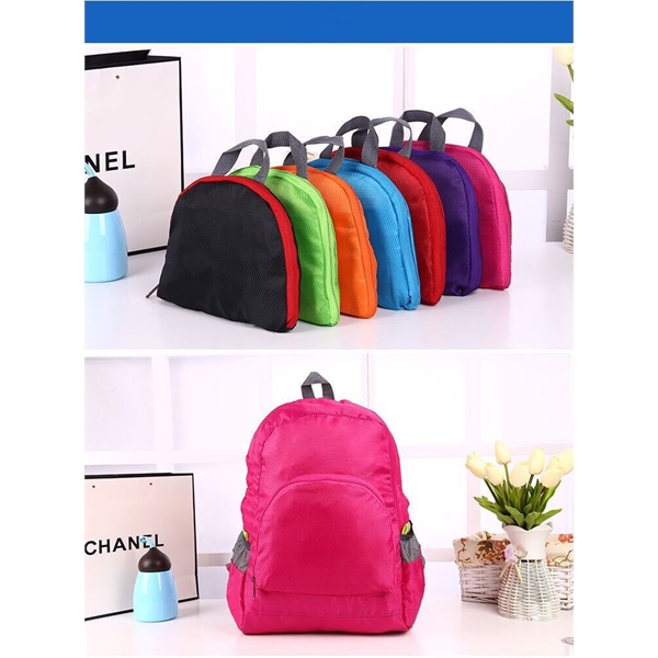 Waterproof 420D Oxford Fabric Foldable Travel Backpack