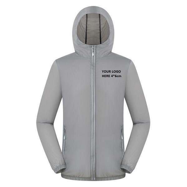 Waterproof/Wind Proof Reflective Raincoat