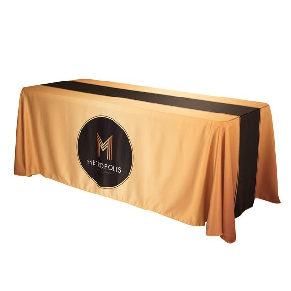 6' Satin Economy Table Throw