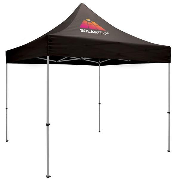 Premium Aluminum 10' Tent Kit (Imprinted, 1 Location)