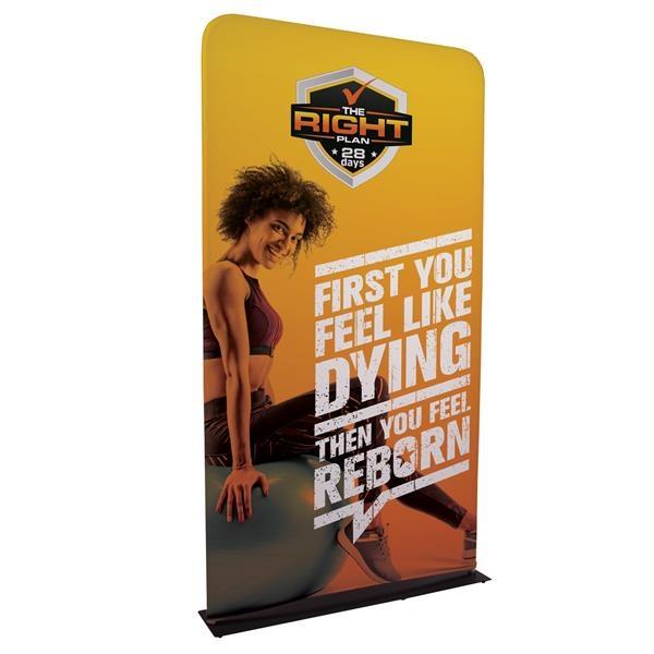 4' EuroFit Banner Display Kit