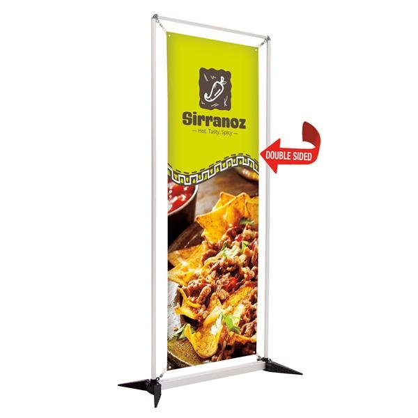 3' FrameWorx Display (2-Sided, 13 oz. Smooth Vinyl)