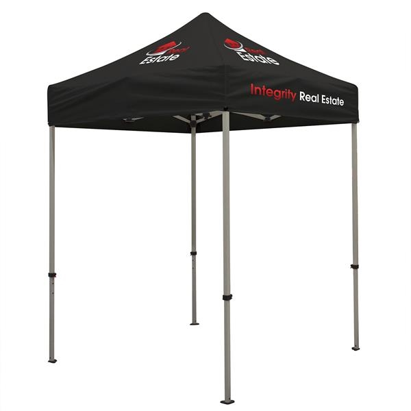 Deluxe 6' Tent Kit (Full-Color Imprint, 3 Locations)