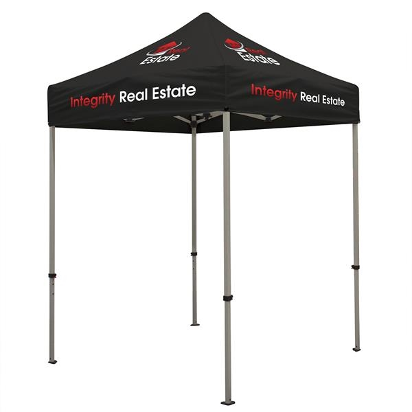 Deluxe 6' Tent Kit (Full-Color Imprint, 5 Locations)