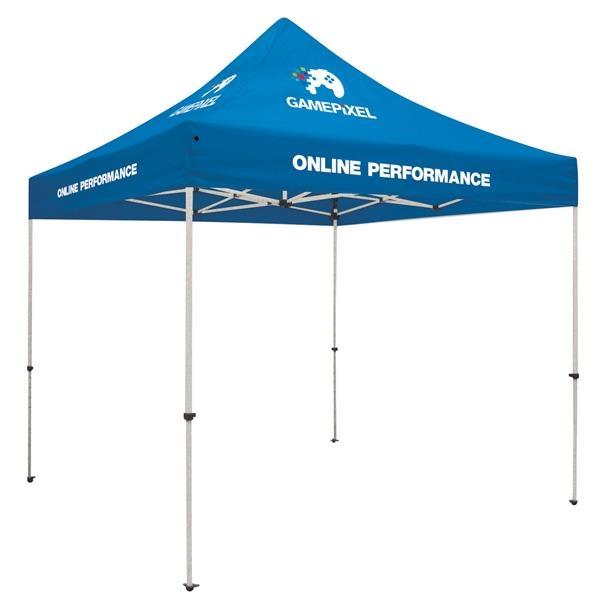 Standard 10' Tent Kit (Full-Color Imprint, 4 Locations)