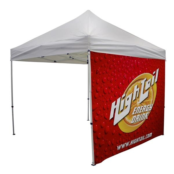 10' Tent Full Wall (Dye Sublimated, Double-Sided)