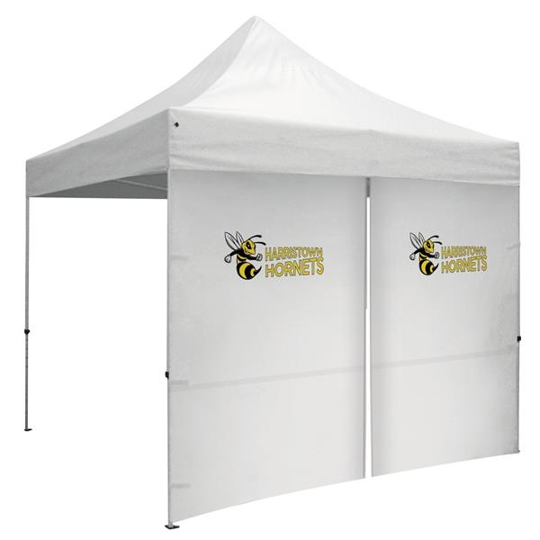 10' Middle Zipper Wall for Event Tents (Full-Color Imprint)