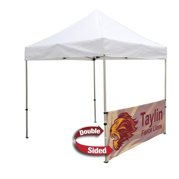 Deluxe 8' Tent Half Wall Kit (Dye-Sublimated, 2-Sided)
