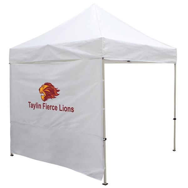 8' Full Wall for Event Tents (Full-Color Imprint)