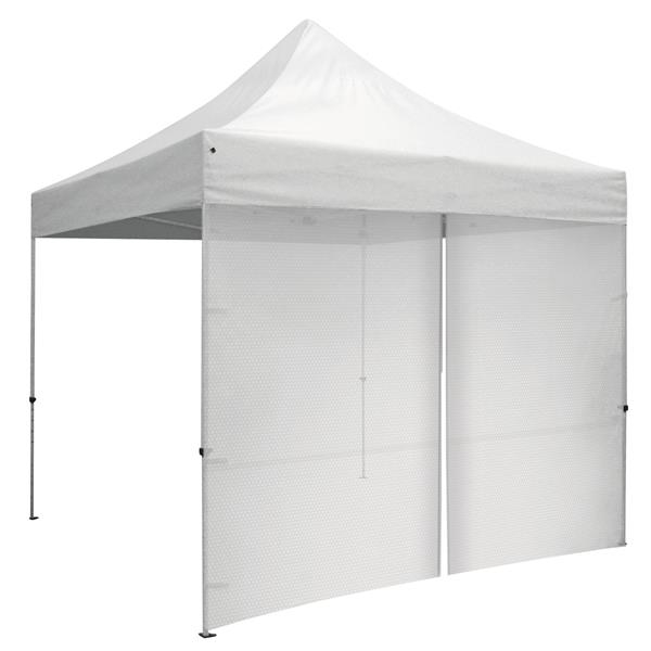 10' Tent Wall with Middle Zipper (Unimprinted Mesh)