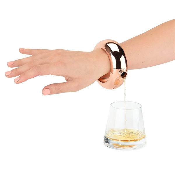 Stainless Steel Bracelet Bangle Hip Flask