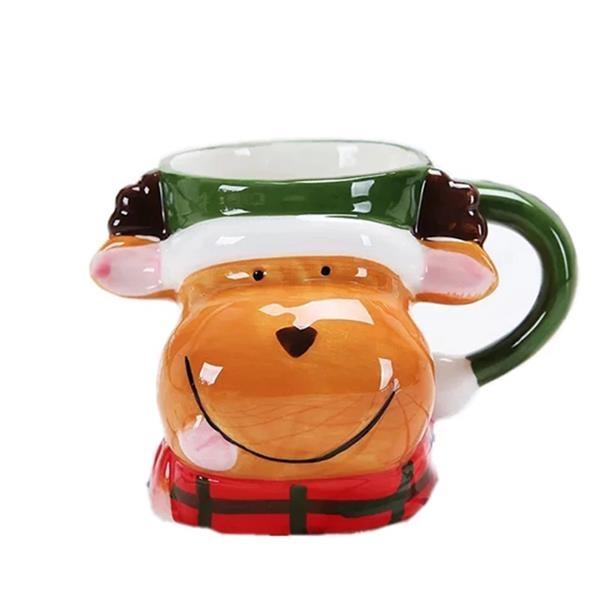 Christmas Gift Elk  Mug