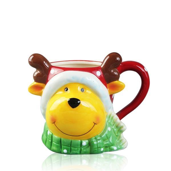 Christmas Gift Elk Cup Mug
