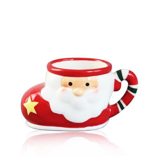 Christmas Gift Santa Claus Sock Cup Mug