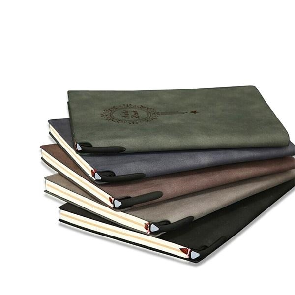 Leather Cover A5 Notebook