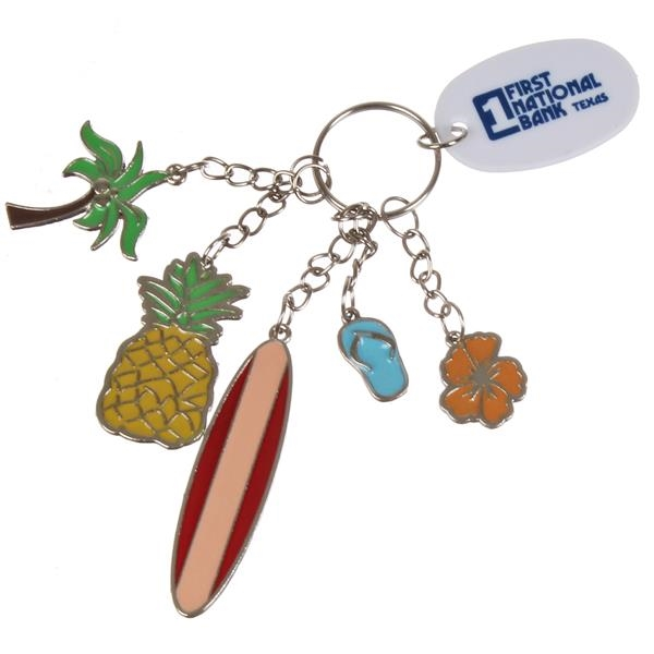 Tropical Charm Key Chain