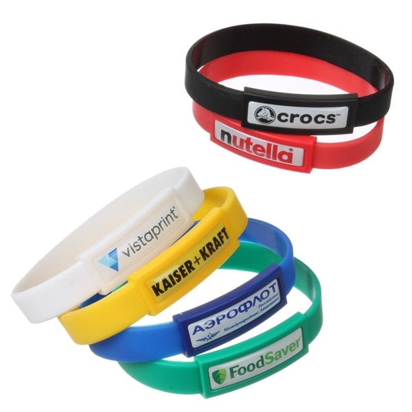 Domed Wristband