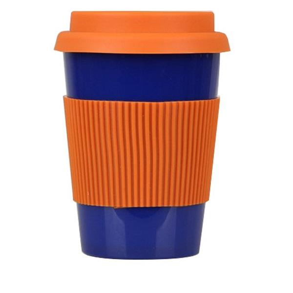 12oz Plastic Double-wall Coffee Mug