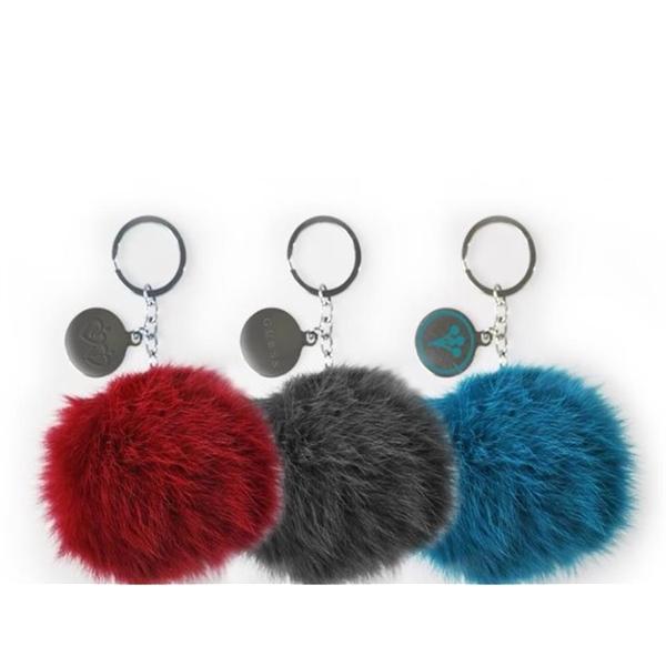 Pom Pon Keychains