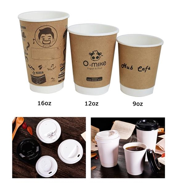 9oz Double Wall Coffee Cup