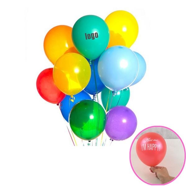 Custom Imprint Latex 9 Inches Cheap Balloon