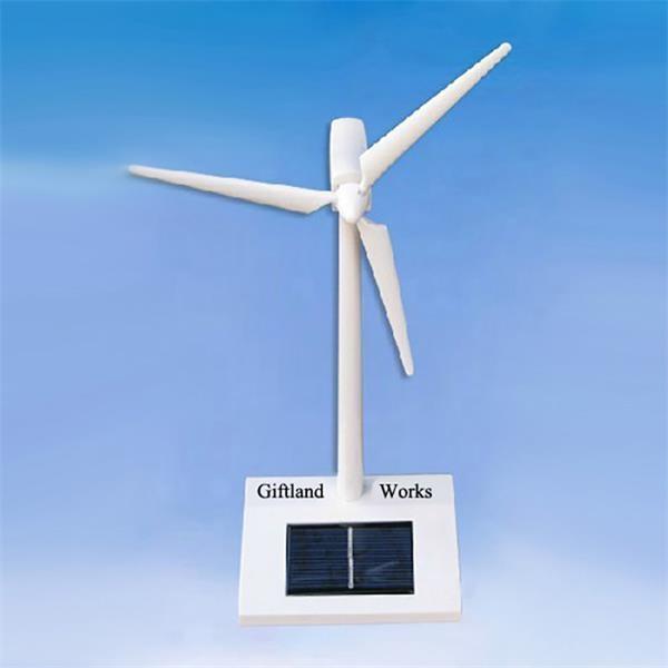 Solar Windmill Powered By Sunlight