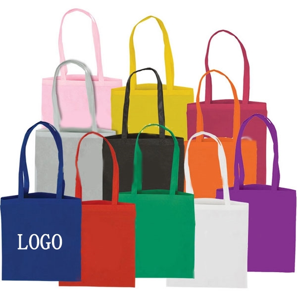 Flat Non-Woven Tote Bags (14.5