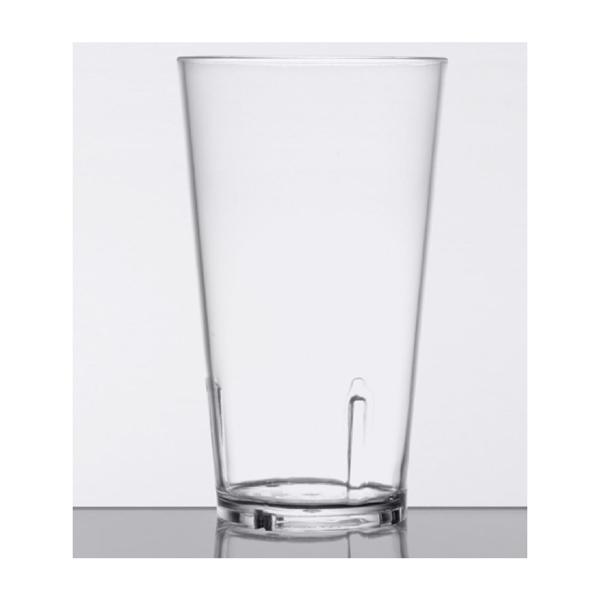 16 oz. SAN Plastic Mixing / Pint Glass