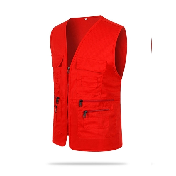 Multi Pockets Fishing Vest