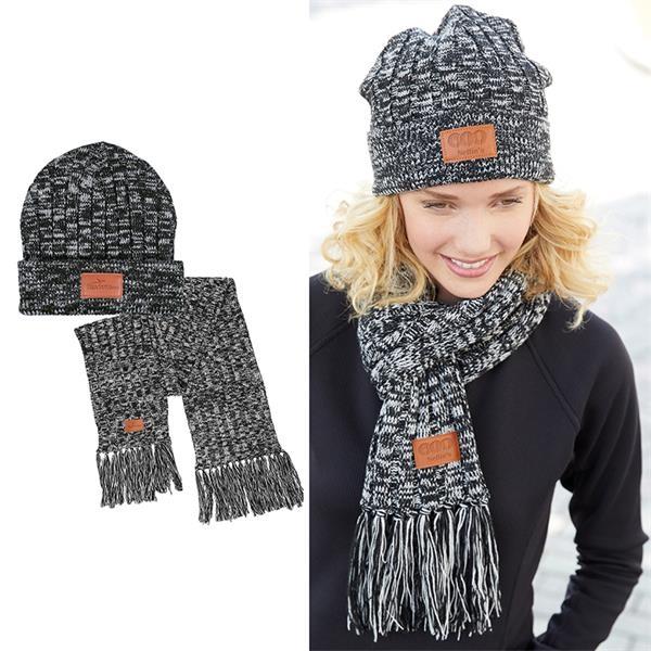 Leeman™ 2-in-1 Heathered Knit Winter Set