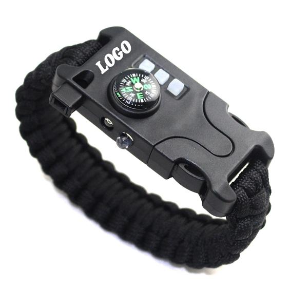 Outdoor Multifunctional Survival Bracelet