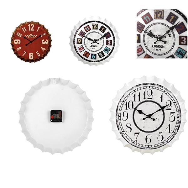Bottle Cap Clock