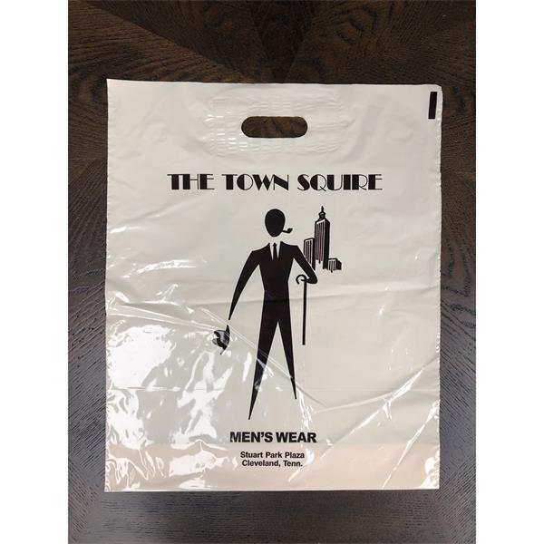 1.75 mil 22 x 23.5 Patch Handle Bag