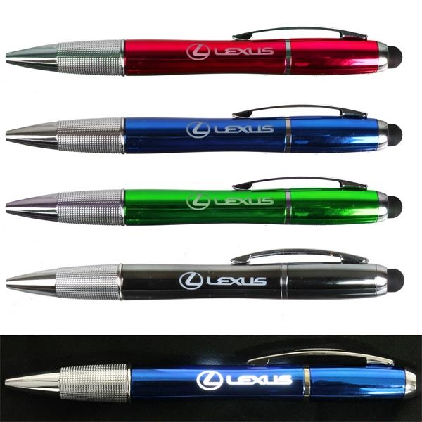 3 in 1 LED Stylus Pen