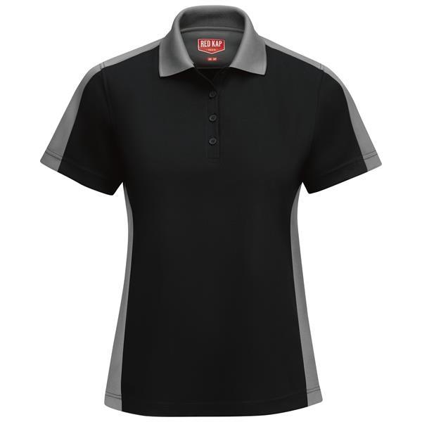 Red Kap® Women's Performance Knit Color-Block Polo Shirt
