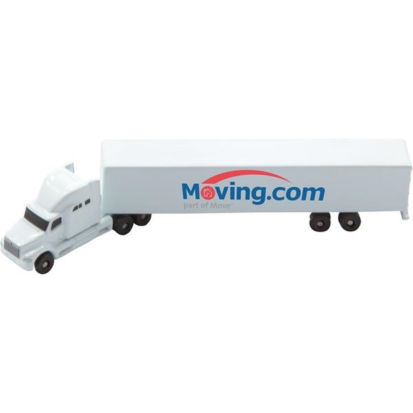 Die Cast Conventional Sleeper with Trailer
