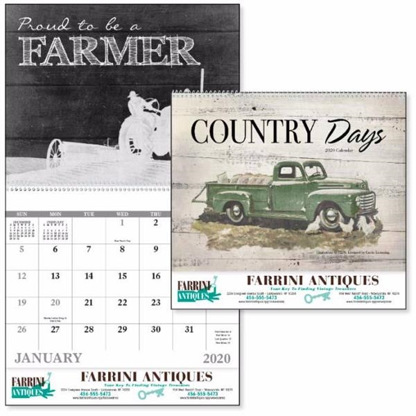 Good Value® Country Days Calendar