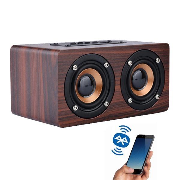 Wooden Wireless Bluetooth Speaker