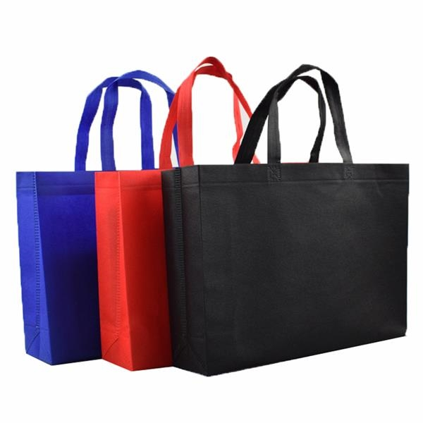 Nonwoven fabric shopping tote