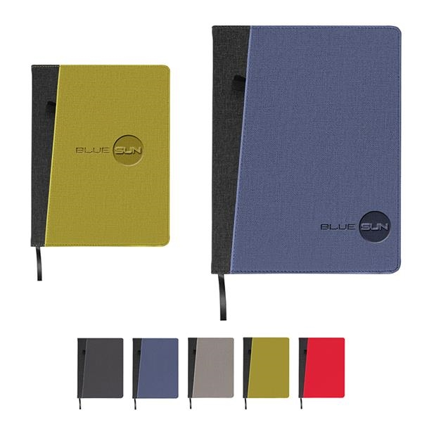 Baxter Large Refillable Journal (With Front Pocket)