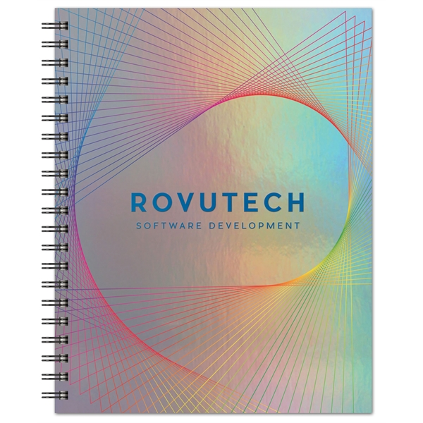 Holographic Rainbow - Large Note Book