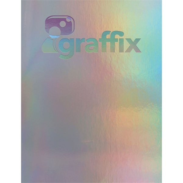 Holographic Rainbow Flex - Large Note Book